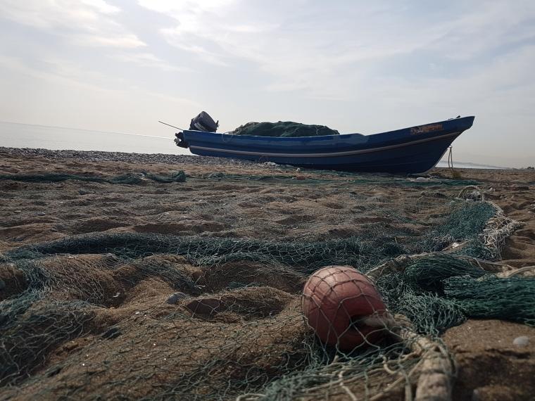 bateau de pêcheurs Oman - muscat