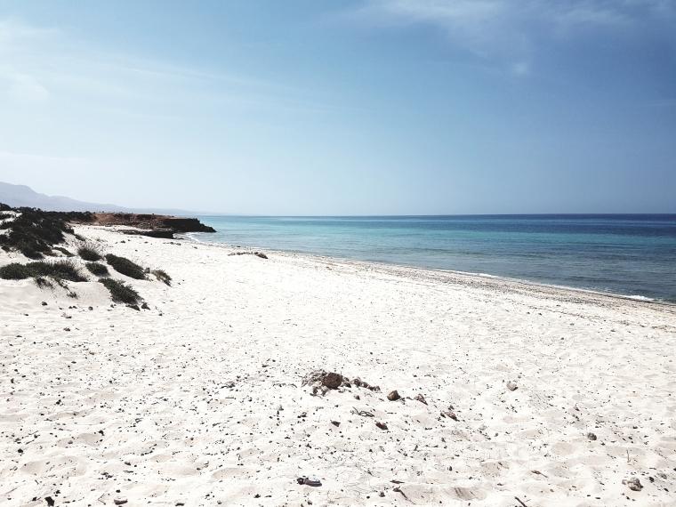 La mer d'Arabie à Oman- ellea40ans.com