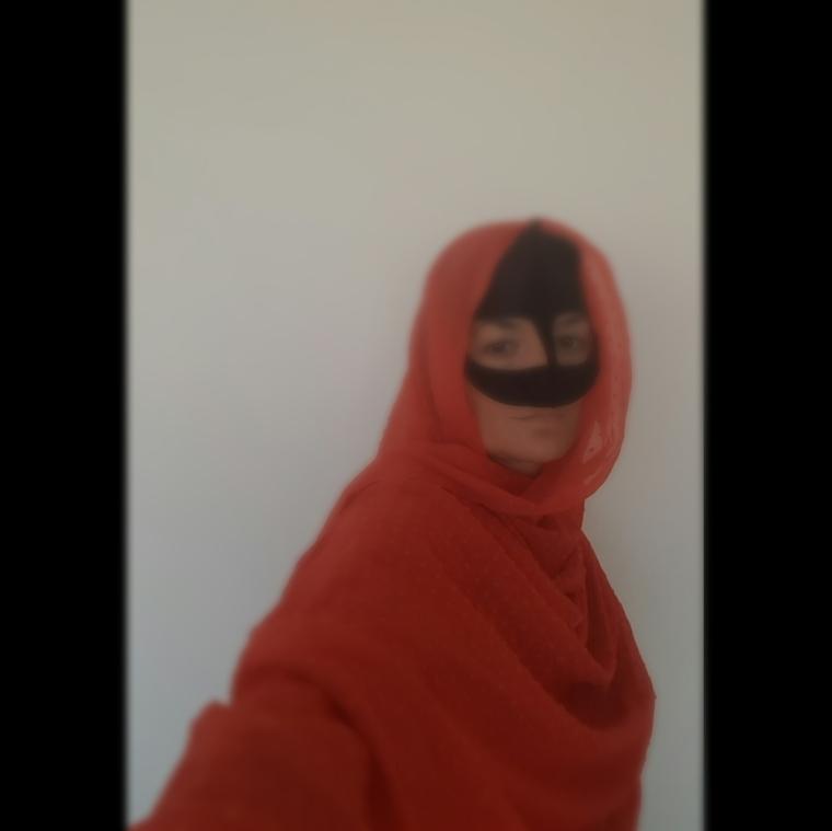 masque Bedouin Omanais - elles 40ans