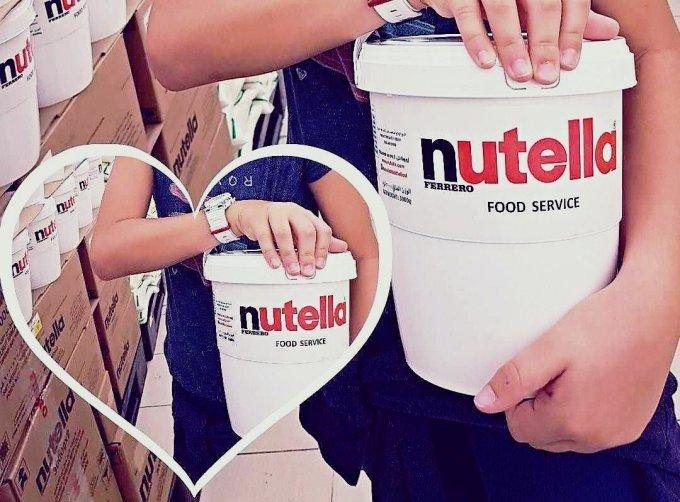 A 40 ans on est tellement forte qu'on peut même arrêter le Nutella