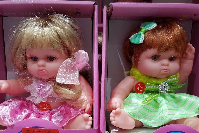 poupée d'horreur - elle a 40 ans - Comment peut-on offrir ça ?