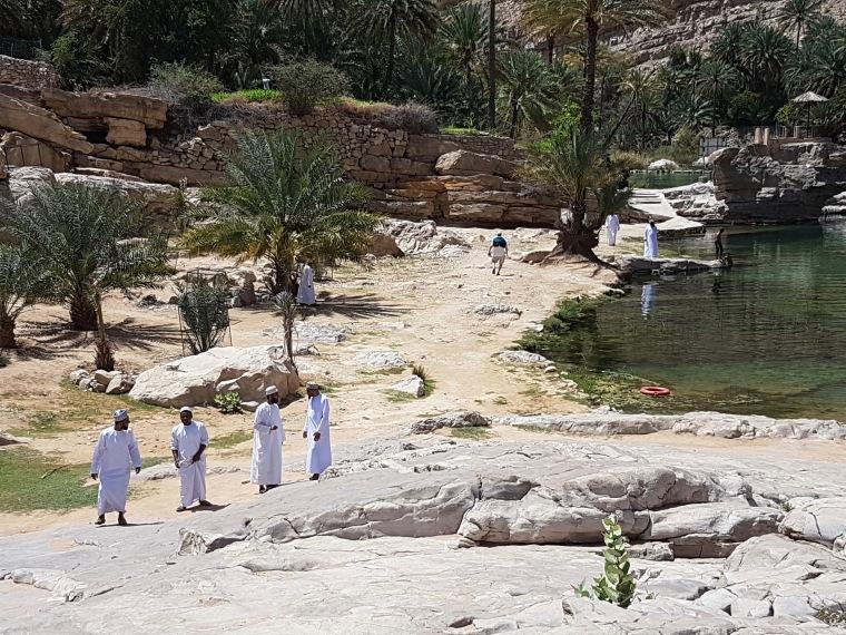 Wadi Bani Khalid par elle a 40 ans
