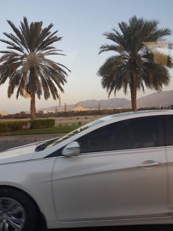 de ma voiture à Oman par elle a 40 ans