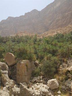Wadi Tiwi Oman par elle a 40 ans